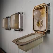 reclaimed industrial lighting. reclaimed bulkhead wall lights vintage industrial lighting original house e
