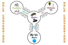 Mole Chart Chemistry Free Mole Reference Chart Poster Stoichiometry Visual Aid