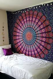 boho bedspread queen pink purple mandala throw tapestry dorm hippie bedspread boho bed sets