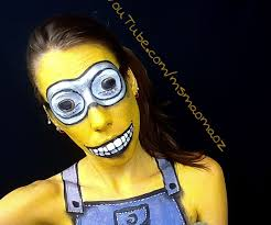 minion face paint