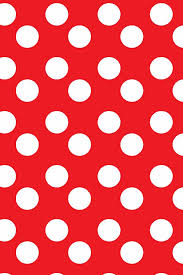 red and white polka dot background.  Background Red White Large Polka Dots In Red And White Polka Dot Background
