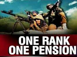 Image result for Government gives nod to One Rank One Pension scheme