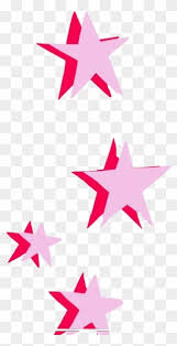 Free PNG Pink Stars Clip Art Download - PinClipart
