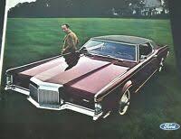Collectibles 1971 Lincoln Continental-MARK III Original Print Ad 8.5 ...