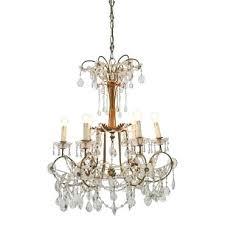 brass crystal chandelier vintage brass crystal chandelier brass chandelier crystal beads