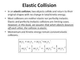 14 elastic collision