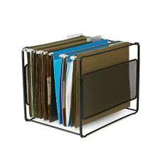 desk file organizer. Wonderful Desk Metal Mesh Hanging Folder File Organizer In Black On Desk N
