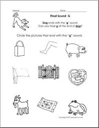 Easy to print, download, and use. Final Consonant Sound G Primary Phonics I Abcteach Com Abcteach