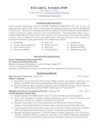 Human Capital Management And Summary Of Qualifications It Program