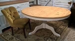 rare tilt top solid pine round dining table free delivery vintage white farmhouse shabby chic oak in farnham surrey gumtree