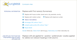 Add Resume To Linkedin Resume How To Add The Skype ICON In Europass CV TeX LaTeX 36