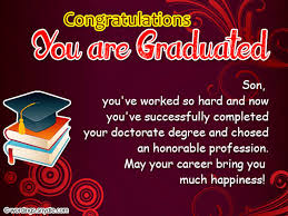 Graduation Quotes For Son Stunning Graduation Congratulations Messages And Wordings Wordings And Messages