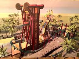 to enlarge concept art for cobra s curse the new family coaster ing to busch gardens ta in