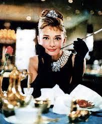 little black dress with Audrey Hepburn ...