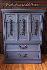 vintage furniture ideas. Furniture How To Paint Vintage Awesome Shabby Chic Navy Blue Bassett Armoire Dresser Ideas