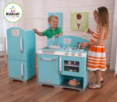 Kid Craft Retro Kitchen Kidkraft 2 Piece Retro Kitchen And Refrigerator