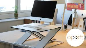 Slim Computer Desk Oplft Make Your Desk Height Adjustable By Oplft Kickstarter