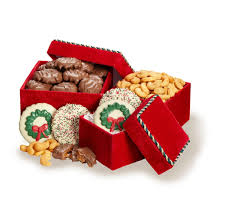 holiday trio deluxe business gift set gourmet chocolate gifts koeze direct