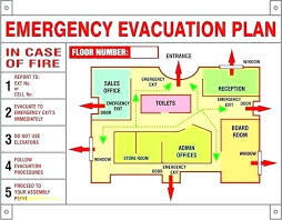 sample safety plan business emergency plan template images of evacuation office example