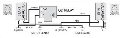 single phase motors and controls Century Ac Motor Wiring Magnetek 177819 Motor Wireing