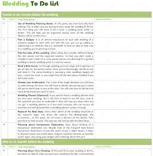 Wedding Planner Template Ultimate Wedding To Do List For Wedding Planning 16
