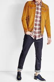 dsquared2 embellished suede jacket camel men dsquared fashion dsquared er jacket s