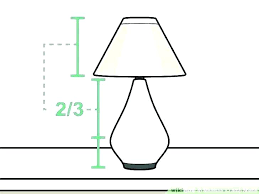 lamp shade types size guide sizes harp ring
