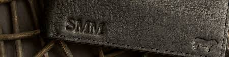 today the monogram remains a functional identifier while also lending personal style to your leather goods