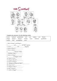 Family Tree In Spanish Worksheet   Simple Living Tree in the World ...