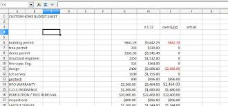 cost spreadsheet for building a house downloadable budget spreadsheet your new home renovation house