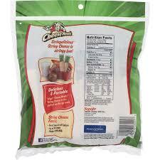 frigo cheese heads original low moisture part skim mozzarella string cheese 24 oz 24 count walmart