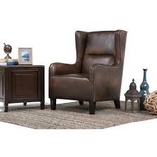 fresh brown leather wingback chair in styles of chairs with additional wing back modern quality interior armchair uk big swivel top winged table vinyl