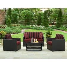 better homes and gardens patio furniture. Better Homes And Garden Patio Furniture Gardens Rush Valley 4 Piece Outdoor Conversation Set Home Cushions