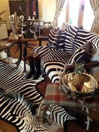 faux zebra hide rug cool close antique leather chair skin fake australia