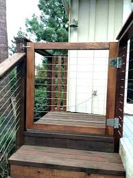 outdoor gates retractable for pets