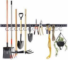 9pc garage tool hooks garden tool