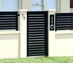 Modern Fence Gate Modern Fences And Gates House Fence Gate Designs