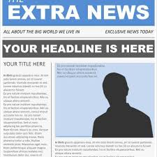 Newspaper Article Template Free 16 Newspaper Templates Free Sample Example Format Free For