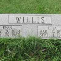 Evan Willis (1884-1965) • FamilySearch