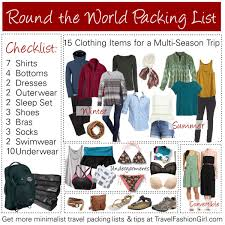 Packing Lists RTW Packing List: Your Ultimate Guide for Around the World Travel