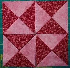 Double Pinwheel Quilt Block | Quilts By Jen & Quarter Square Triangles Adamdwight.com