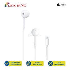 Mã ELMS5 giảm 7% đơn 300K] Tai nghe có dây Apple Earpods Lightning  MMTN2ZA/A - Hàng chính hãng - Tai nghe có dây nhét tai