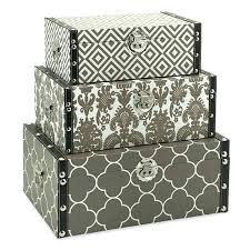 Decorative Cardboard Storage Box With Lid Extraordinary Decorative Storage Box Decorative Cardboard Storage 51