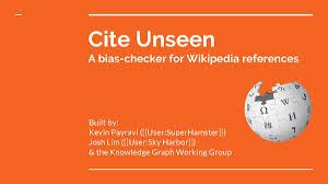 Cite Unseen Meta