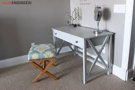 diy vanity table plans. diy flip top vanity plans - rogue engineer 3 diy table a