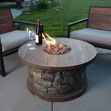 round gas fire pit table. Decorating Fancy Round Fire Pit Table 22 Starrkingschool Gas