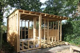 building a garden office. Garden Office And Workshop Building A