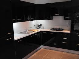Black Gloss Kitchen High Gloss Black Kitchen Conbudesign Interior Inspiration