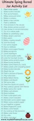 best ideas about bored jar diy crafts for kids low spend or no spend bored jar activities the spring edition