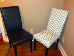 recover dining room chairs why not transform those nice but drab faux leather chairs into something whimsical and spectacular